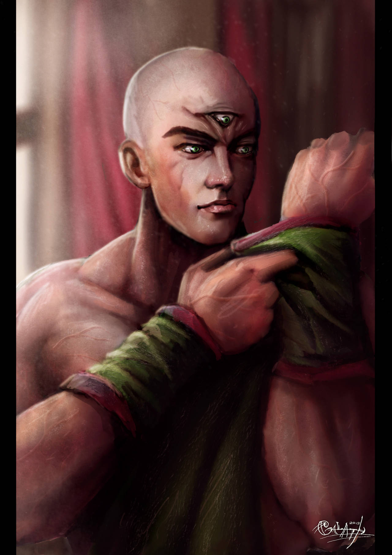 Tien Shinhan Portrait by 0Galath0