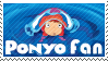 Ponyo Fan Stamp by lightpurge