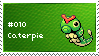 Caterpie Stamp by lightpurge