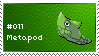 Metapod Stamp by lightpurge