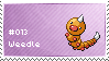 Weedle Stamp by lightpurge