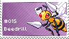 Beedrill Stamp by lightpurge