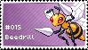 Beedrill Stamp