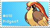 Pidgeot Stamp by lightpurge