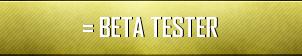 Beta Tester Button by lightpurge