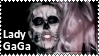 Skeleton Lady GaGa Stamp by lightpurge
