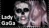 Skeleton Lady GaGa Stamp by lightpurge