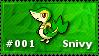 Snivy Stamp