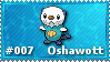 Oshawott Stamp by lightpurge