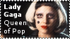 Lady Gaga Queen of Pop by lightpurge