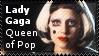 Lady Gaga Queen of Pop by lightpurge