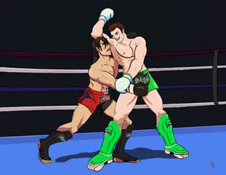 Sakata vs Hurst - Eat pit!