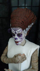 1/6th scale Bride of Frankenstein, Day of the Dead