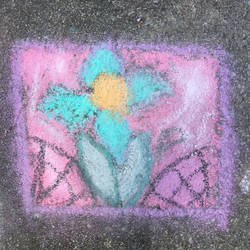 I did a thing on my driveway by Dragoncat03
