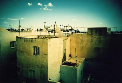 roofs of Hammamet by eccelomo
