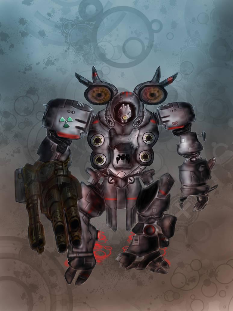 Robot by CreaLyon