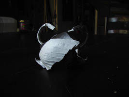 White Swan / Black Swan Origami by CreaLyon