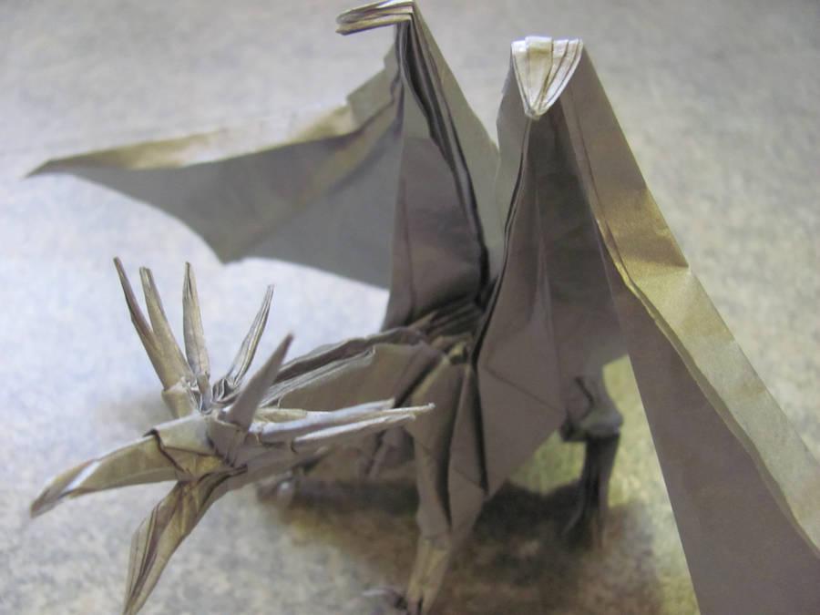 Dragon details by CreaLyon