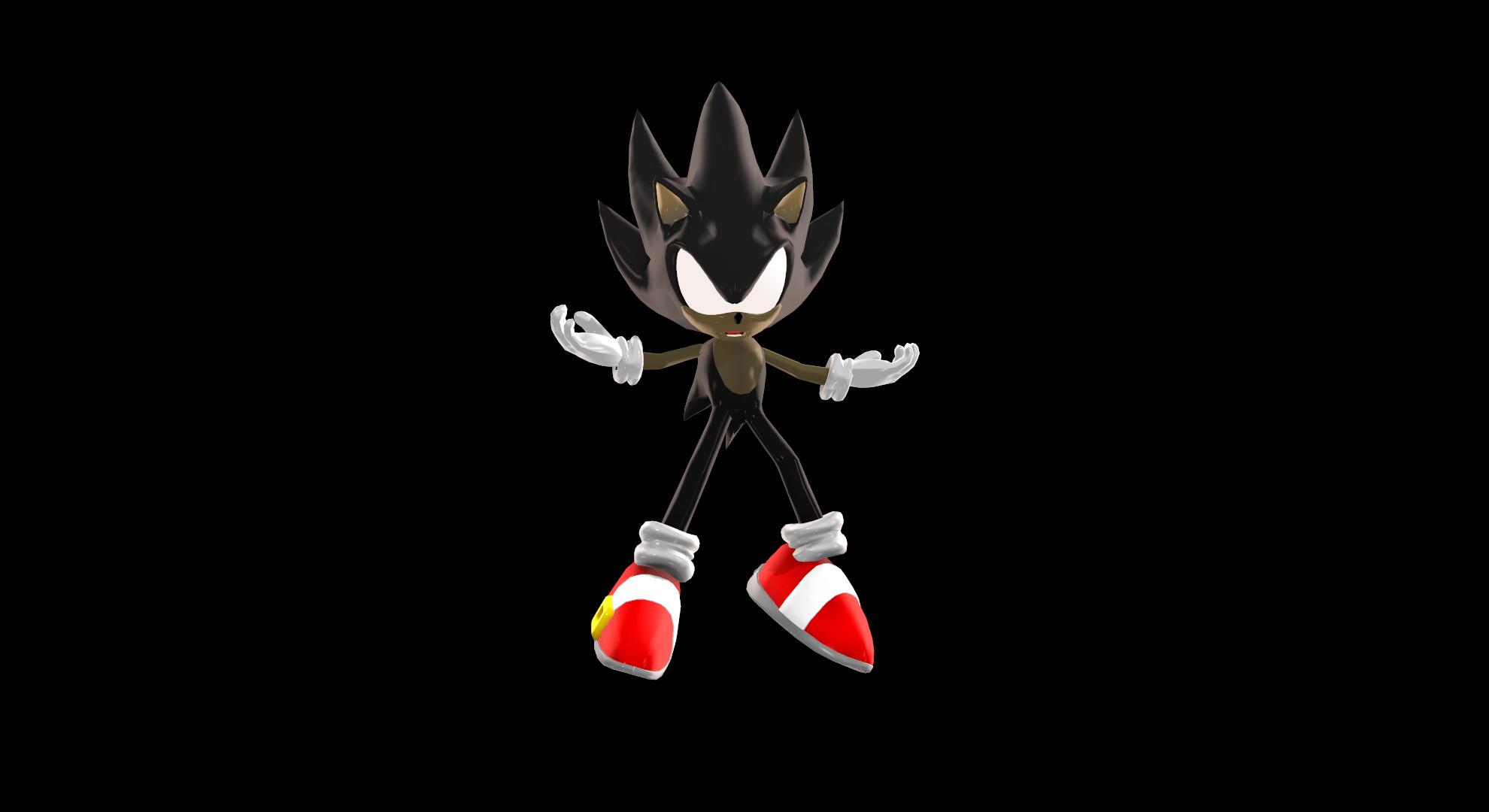 MMDDark Sonic Revenge By Modern