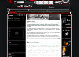 4ARTS Gamingtemplate v2 by overcrock