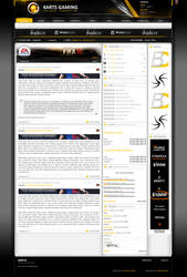 4ARTS Gamingtemplate by overcrock