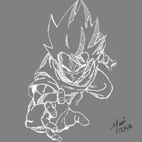 Goku by soulnomad92