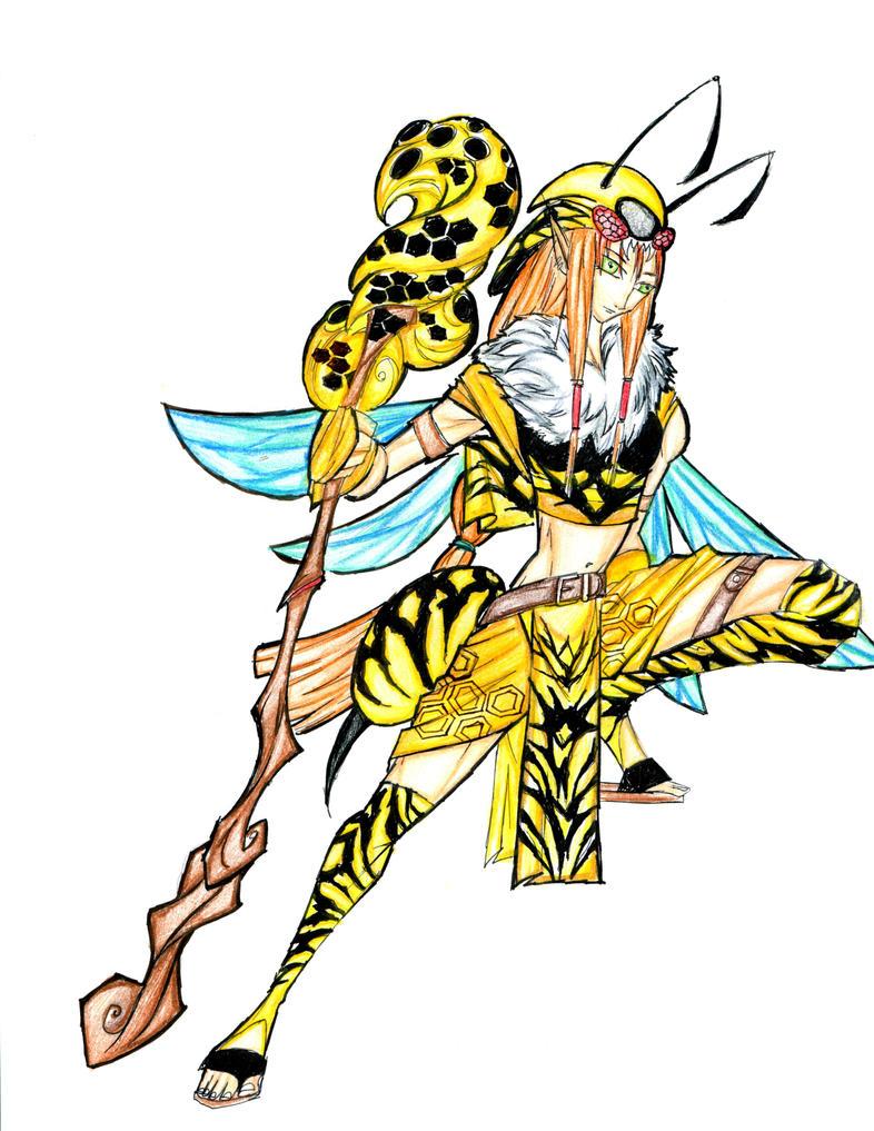 Wasp Queen WaspQueen Wasp Size