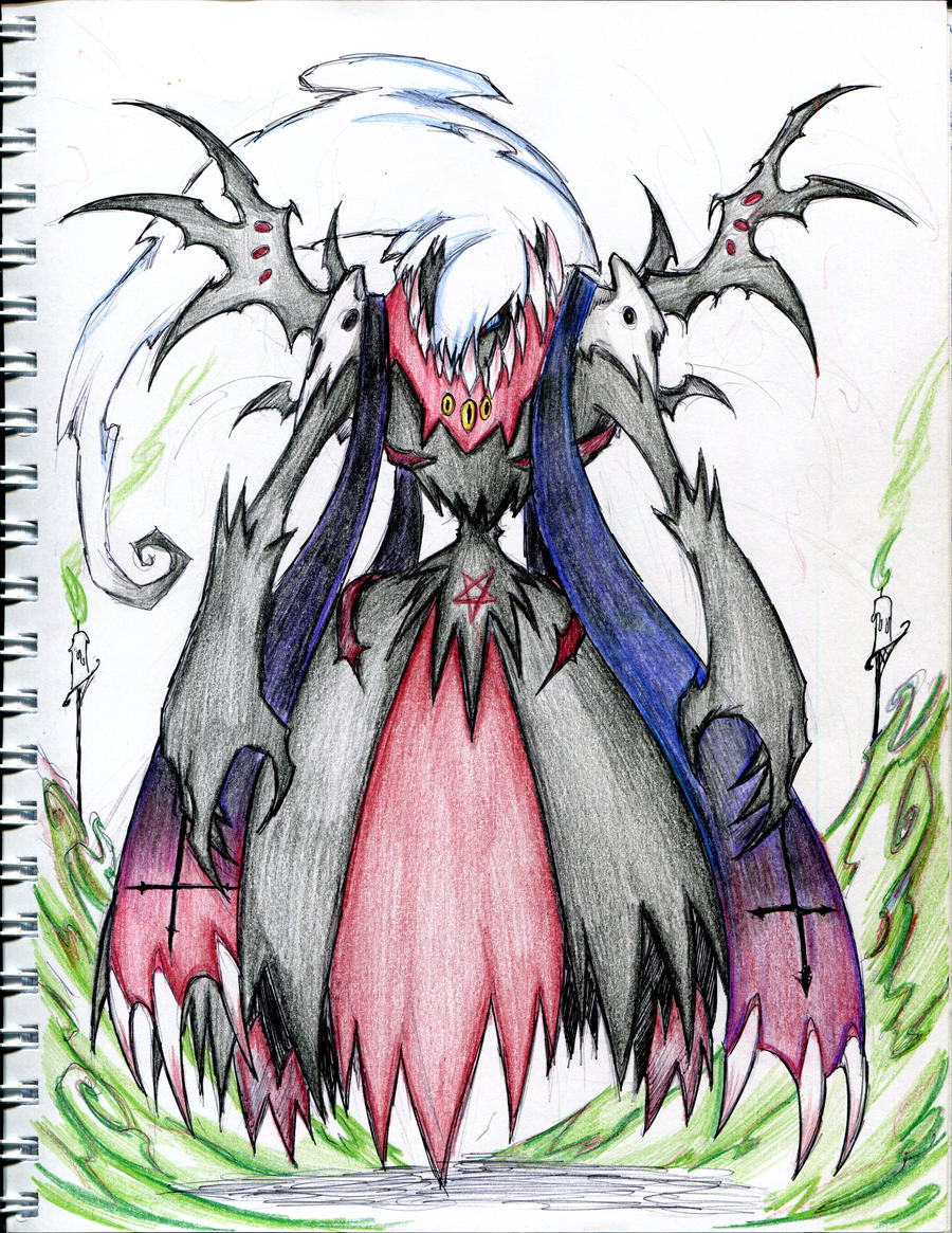 Darkrai evolved form by winddragon24 on DeviantArt