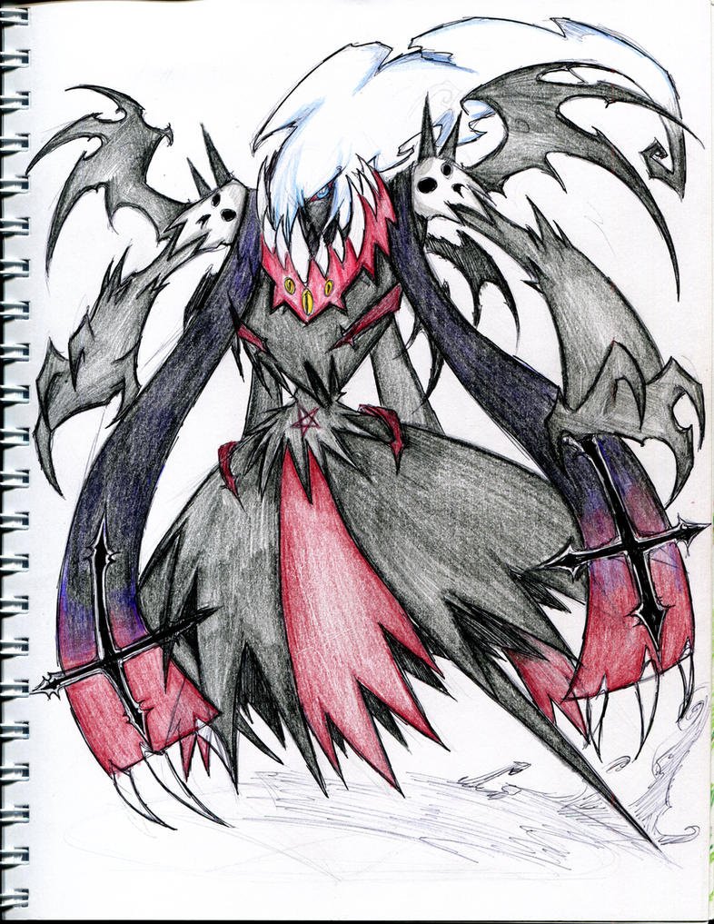 Darkrai new form by winddragon24 on DeviantArt