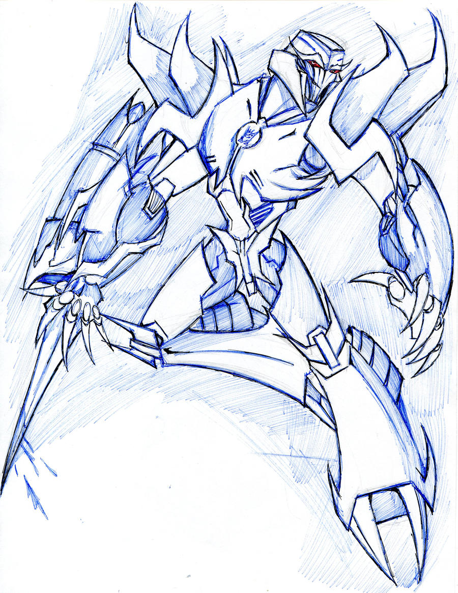 megatron transformers prime by winddragon24 on deviantart