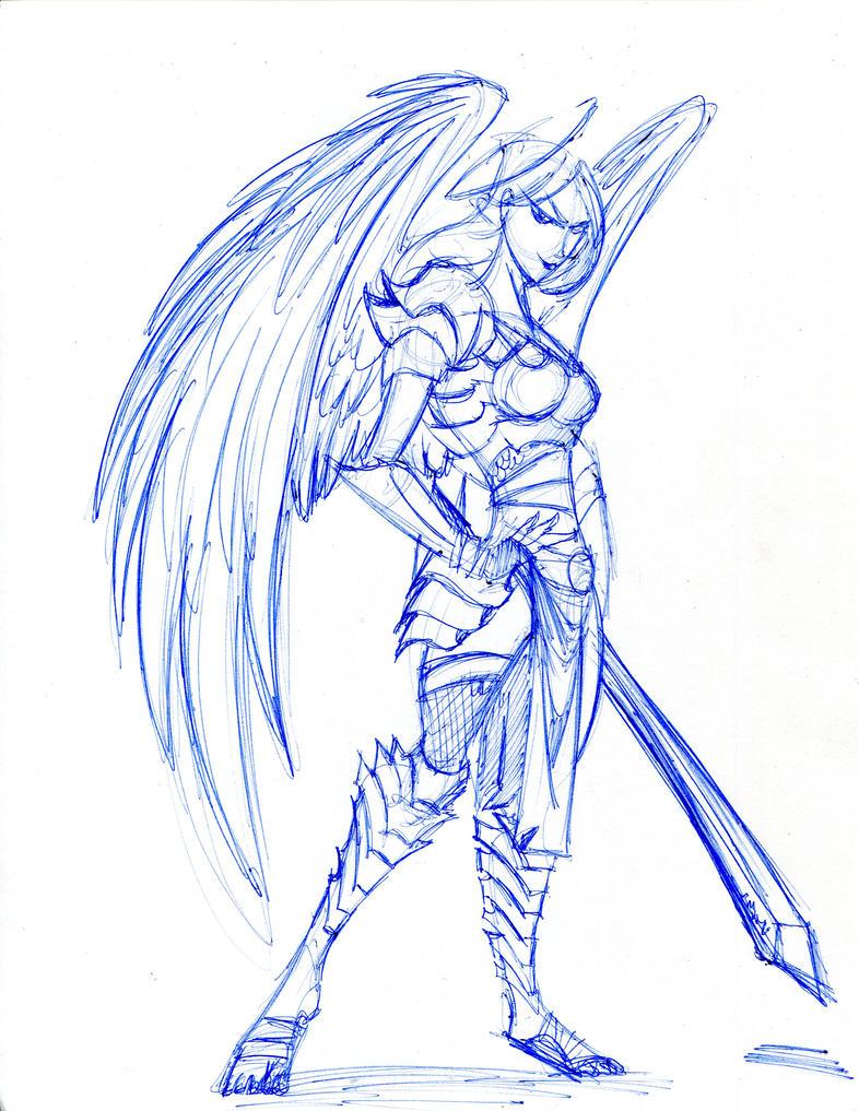 Angel warrior by winddragon24 on DeviantArt