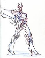 transformers prime Starfall - fanart oc character by winddragon24