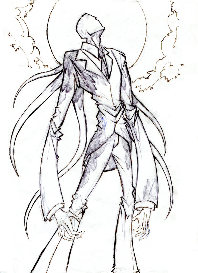 Scary slender man coloring pages coloring pages for Slender man coloring pages