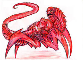 RED - Godzilla Creepypasta by winddragon24