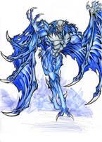 Solomon  - Kaiju Monster by winddragon24