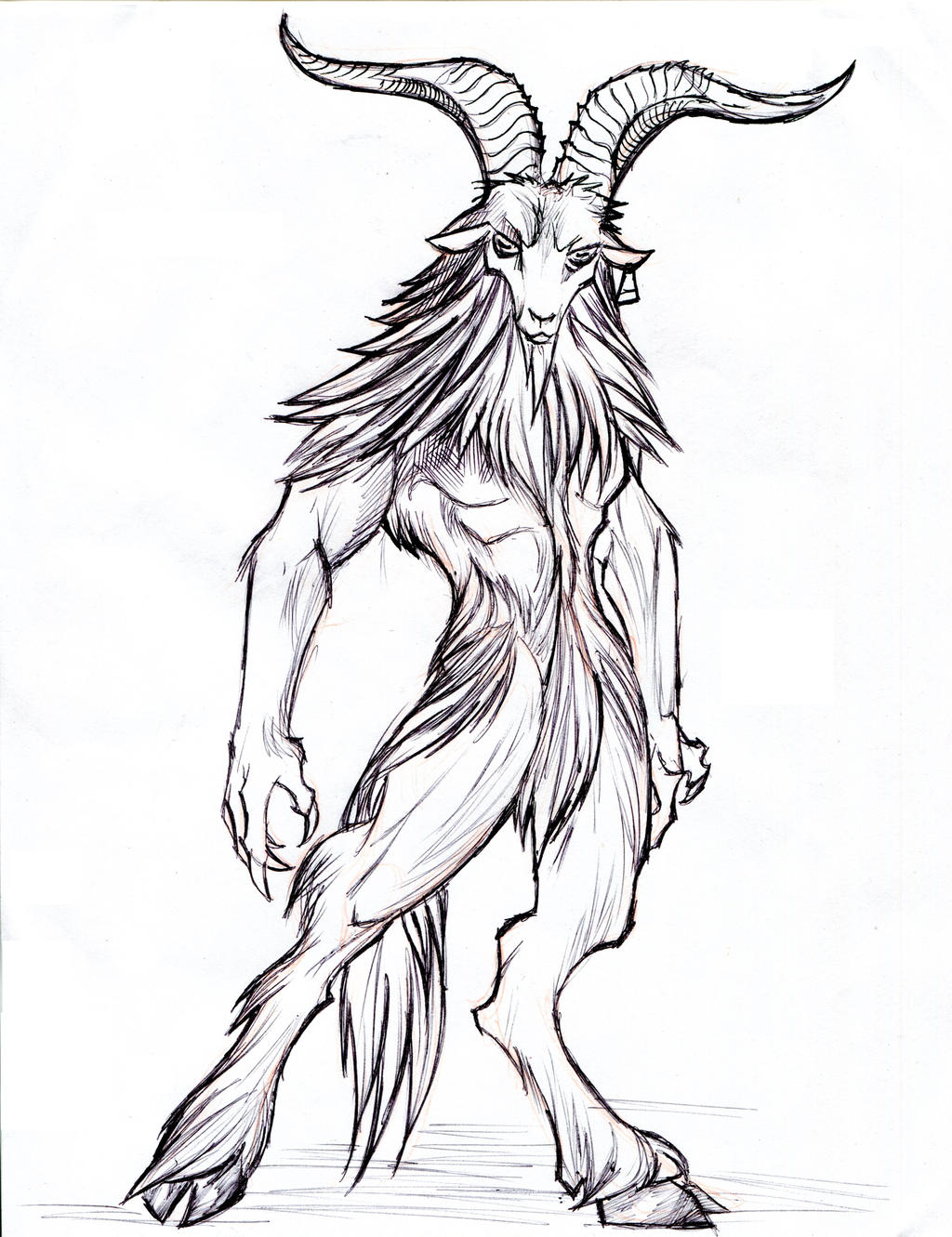 Satyr goat demon by winddragon24 on DeviantArt
