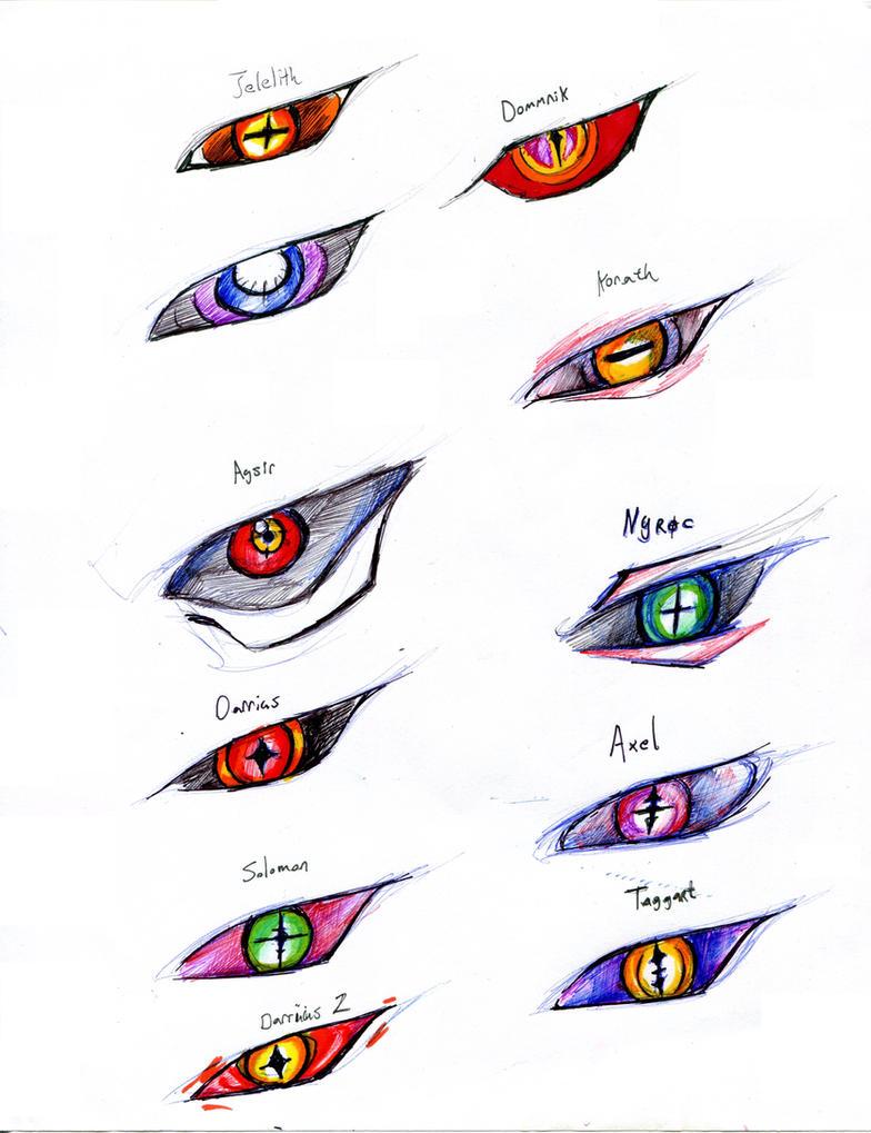 .:The Eyes of a Demon:. by Aviaku on DeviantArt |Anime Demon Eyes