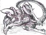 Male Xenomorph by winddragon24