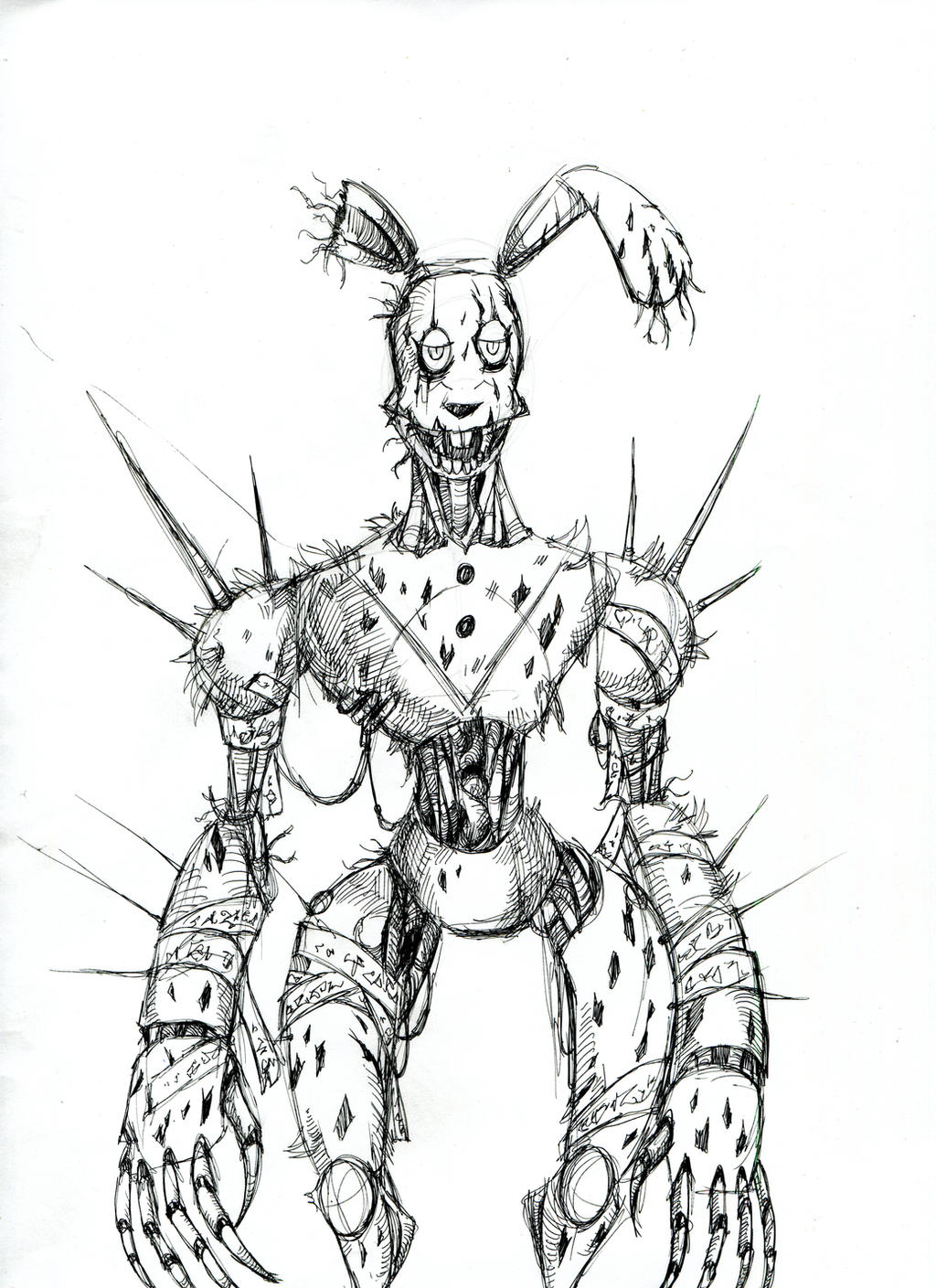 together with cyberpunk springtrap by winddragon24 d8ssjlw besides how to draw Goku Super Saiyan from Dragon Ball Z step 13 besides maxresdefault furthermore mortal kombat 009 in addition Imagenes de Goku y vegeta fase 4 besides 9czxxA7Ri as well  together with freddy fazbear plush template by trinitythewerewolf33 d7yfksa in addition maxresdefault further fnaf 4 nightmare foxy mangle papercraft by adogopaper d92w8z0. on five nights at freddy s 4 coloring pages printable