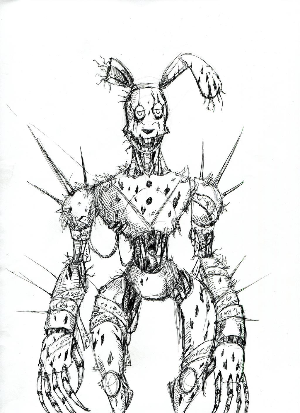 Cyberpunk Springtrap by winddragon24 on DeviantArt