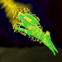 Electrike used Discharge by WolfArrow