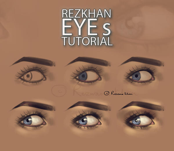 :RezKhan Eyes Tutorial: by RezwanaDimech