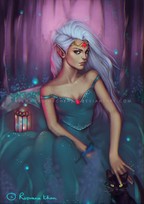 :The_Elf_Princess: by RezwanaDimechKhan