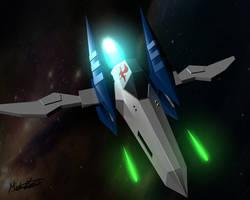 Starfox Arwing by King-Jingaling