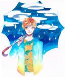 warm rainy summer by Renue