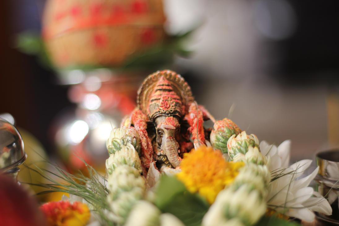 Ganesh Pooja by 99thbone