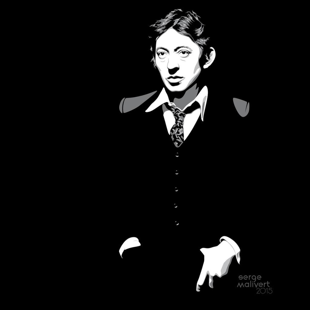 Serge Gainsbourg By Sergemalivert On Deviantart