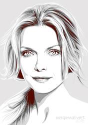 Michelle Pfeiffer by sergemalivert