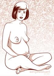 Pregnant srg+Baldazz by sergemalivert