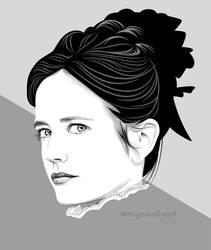 Eva Green by sergemalivert